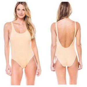 3bffda22a7 Dolce Vita Swim - DOLCE VITA Metallic Silver Reversible Swimsuit